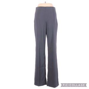 Lauren Vidal Gray Career Work Business Pants